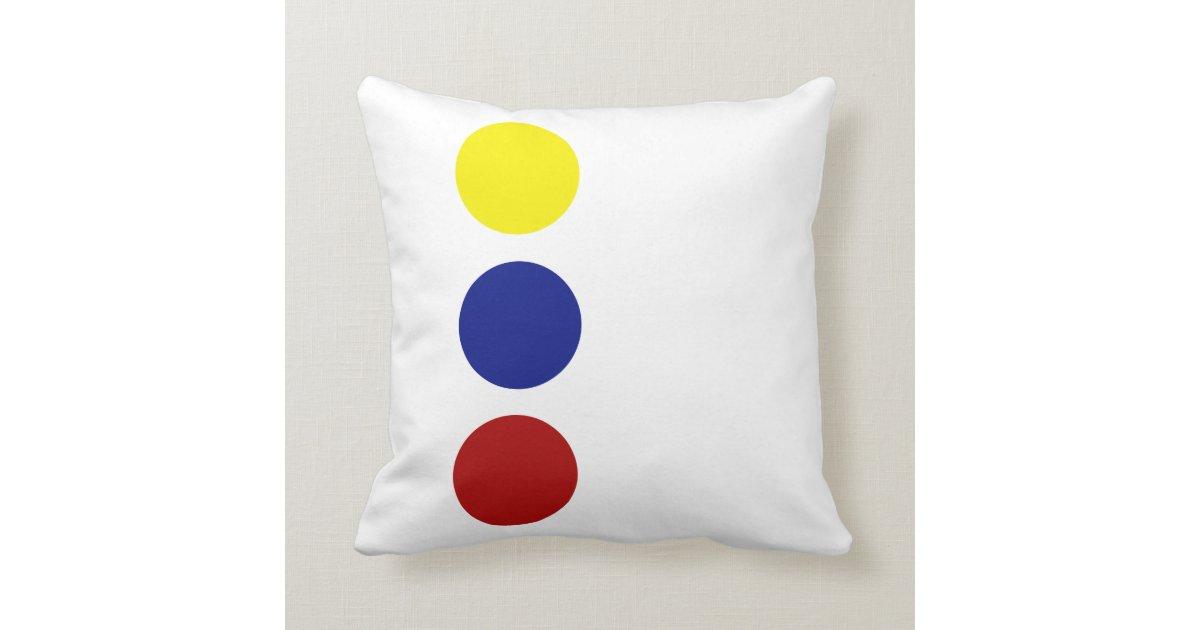Designer Modern Throw Pillow Zazzle