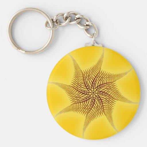 Designer Motif : Abstract Pattern Keychain