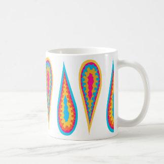 Designer Mug with Droplet Design