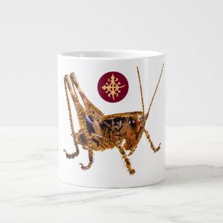 Designer mugs-symbol of unity portrayed by locust 20 oz large ceramic coffee mug