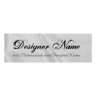 Designer Name Profile Card Double-Sided Mini Business Cards (Pack Of 20)