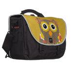 Designer Owl Delila Laptop Messenger Bag
