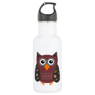 Designer Owl Desarae Water Bottle