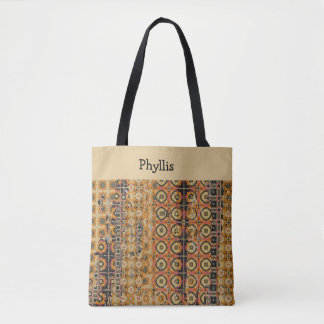 Designer Patterned Tote Bag