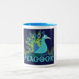 Designer Peacock Coffee Mug
