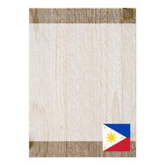 Designer Philippines Flag Box Card