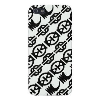 Designer phone cases with African symbols