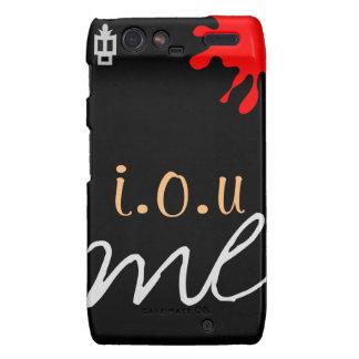Designer phone covers-symbol of happiness. droid RAZR cover