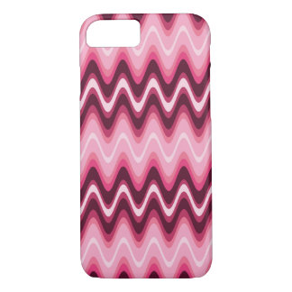 Designer Pink Wave It iPhone 7 Case