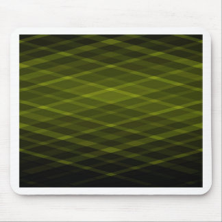 Designer Print - Acid Green Mouse Pad