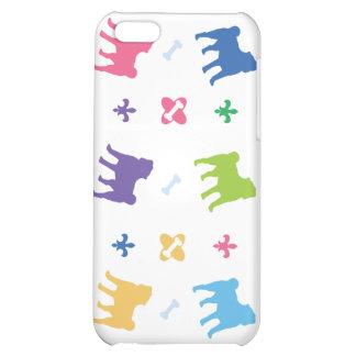 Designer Pug Cover For iPhone 5C