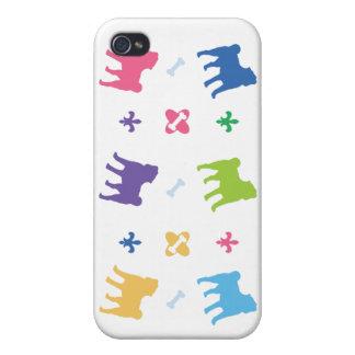 Designer Pug iPhone 4 Case