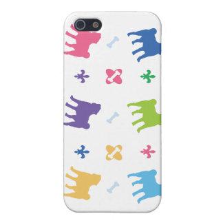Designer Pug iPhone 5 Covers