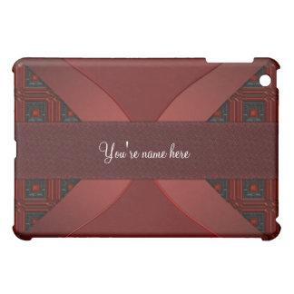 Designer Red & Black Elegant  iPad Mini Covers