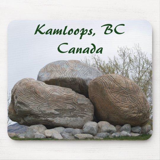 designer rocks, Kamloops, BC Canada Mouse Pad