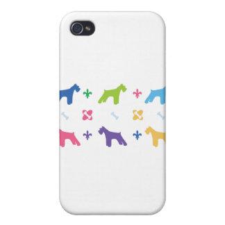 Designer Schnauzer iPhone 4/4S Case