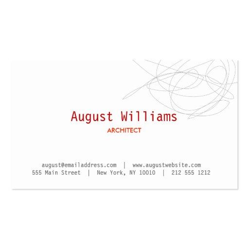 DESIGNER SCRIBBLE Business Card