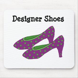 Designer Shoes Mouse Pad