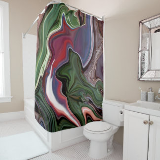 designer shower curtain