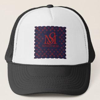 Designer Soccer Mom (blue/red) Trucker Hat