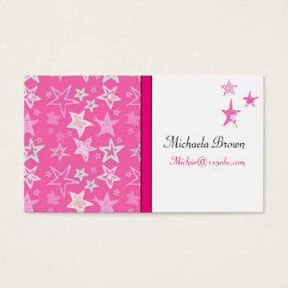 DESIGNER STAR PROFILE CARDS TEMPLATE