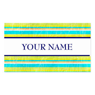 DESIGNER STRIPED PROFILE CARDS BUSINESS CARDS