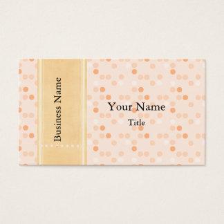 Designer Tangerine Photo Business Card plates