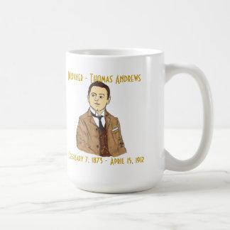 Designer Thomas Andrews mug