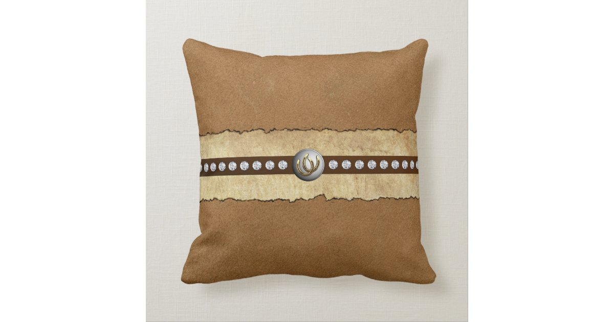 Designer Pillows Throw Country Western