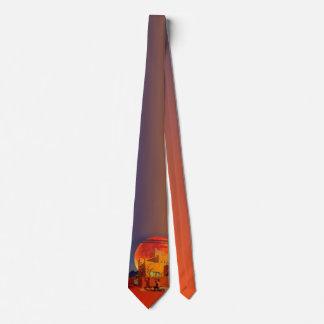 Designer Tie by Art West - Taos Wolf Moon