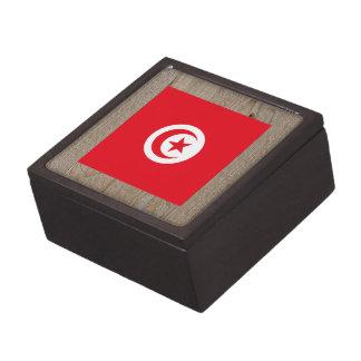 Designer Tunisia Flag Box Premium Trinket Box