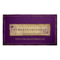 Designer Vintage Grunge Professional Business Card