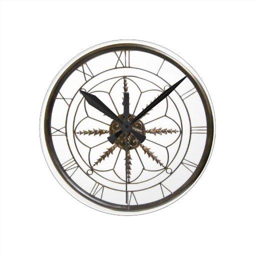 Designer Wall Clock Zazzle