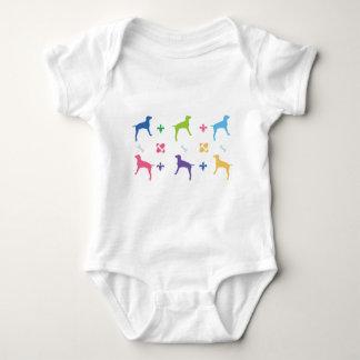 Designer Weimaraner Infant Creeper