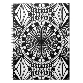 Designer zen doodle mandala art. A great gift! Notebook