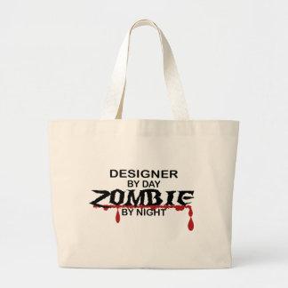 Designer Zombie Large Tote Bag