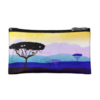 Designers bag with Africa trees