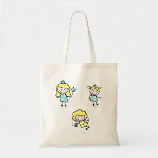 Designers bag with elegant blue Princess
