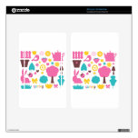 Designers collection with Summer easter Art Kindle Fire Decal