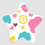 Designers collection with Summer easter Art Star Sticker
