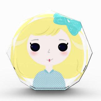 Designers cute blond Manga Acrylic Award