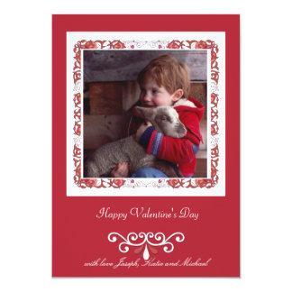 Designer's Frame Valentine's Day Photo Card