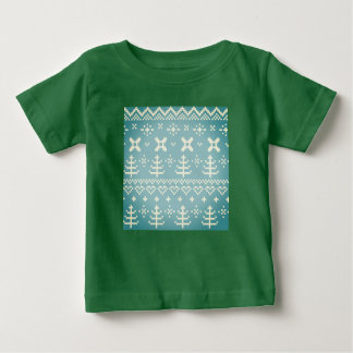 Designers kids Tshirt : green Folk