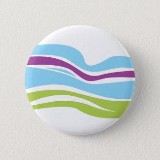 Designers ladies button with rainbow