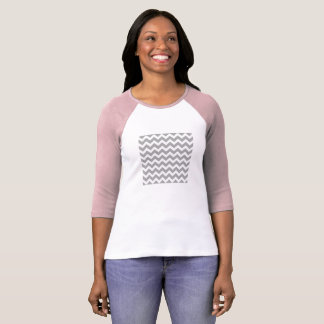 Designers ladies elegant t-shirt with stripes