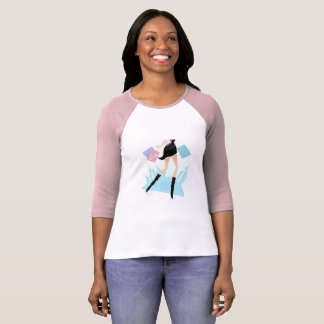 "Designers ladies tshirt ""with illustation"""