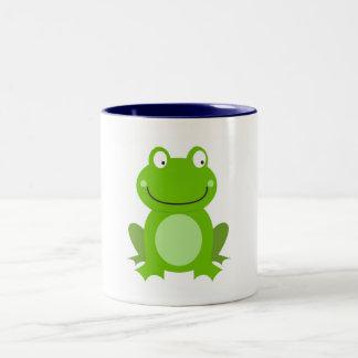 Designers Mug with little Frog