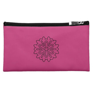 Designers pink bag with Mandala