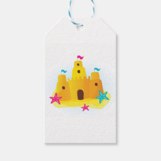 Designers sand castle Edition Gift Tags