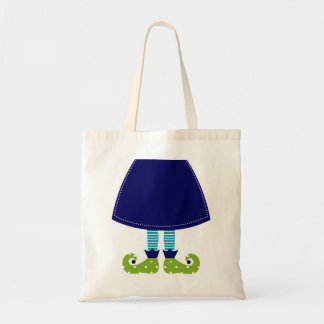 Designers tote with Witch Legs